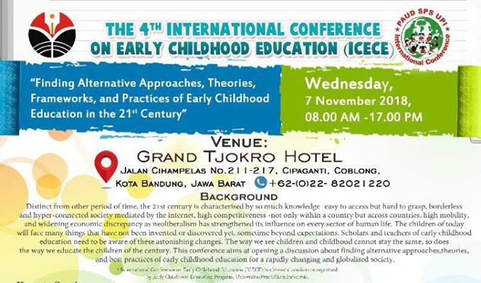 The 4th International Conference on Early Childhood Education